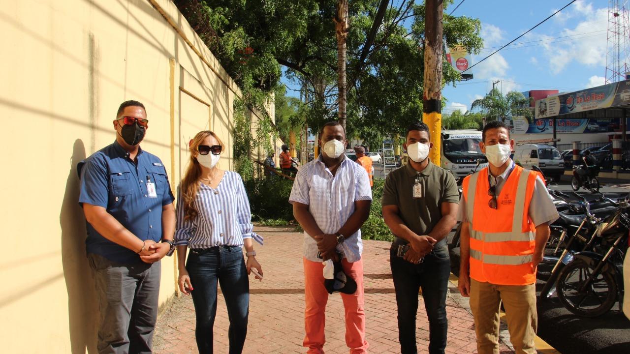 La alcaldía de Higüey en coordinación con el INTRANT inició en el día de hoy el operativo especial