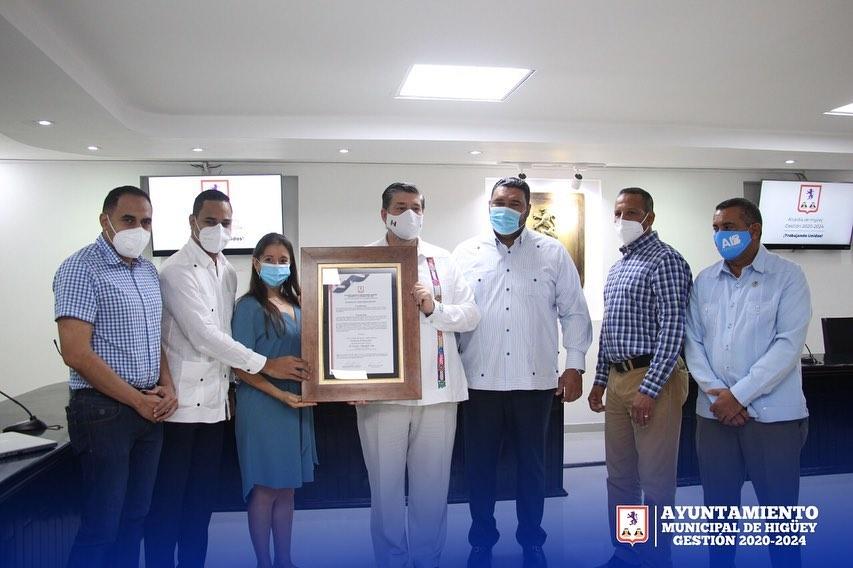 Alcaldía de Higüey declara visitante distinguido a Embajador de México en el país